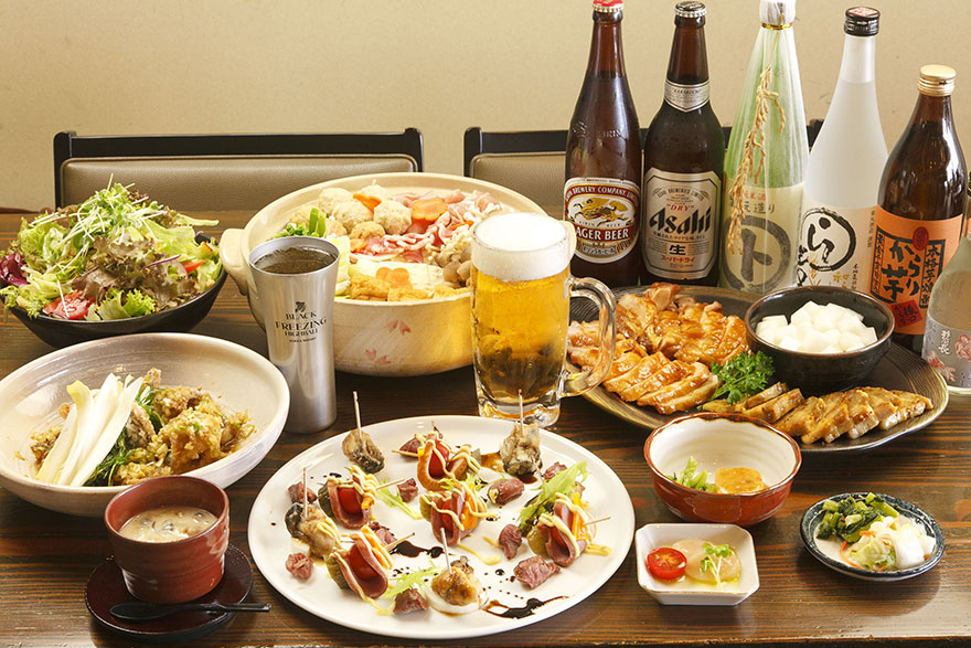 画像:宴会料理一例